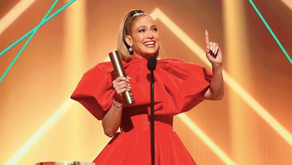Well Deserved Award for JLO at the People's Choice Awards