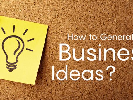Mobile app idea #75: Business Ideas Finder