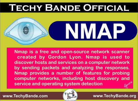 Nmap :- The Network Mapper - Free Security Scanner