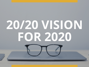 20/20 Vision for 2020