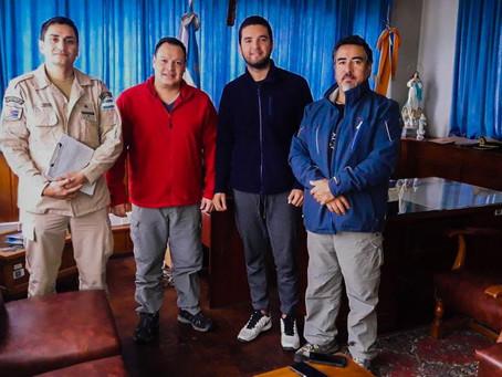 Reunión con autoridades de Prefectura Naval Argentina