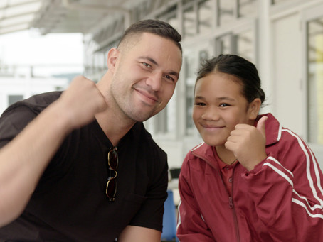 Joseph Parker puts his (heavy)weight behind the work of the Middlemore Foundation