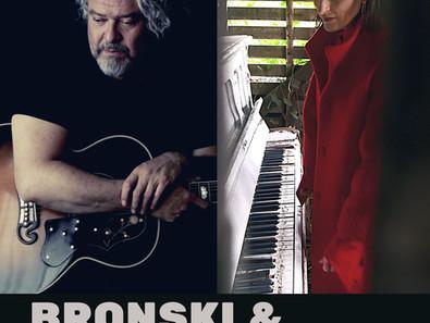 BRONSKI & Nell announcing new online Stream Gig.