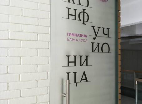 Confucius Classroom Opened in the Grammar School