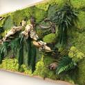 Replica moss panel