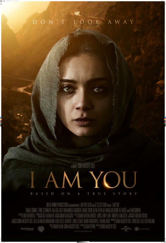 Poster for I Am You showing protagonist Damla Sonmez.