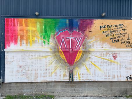 COVID Fallout ATX Mural