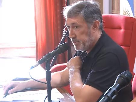 "Osvaldo Fraticelli ""Hoy no tenemos presupuesto"""