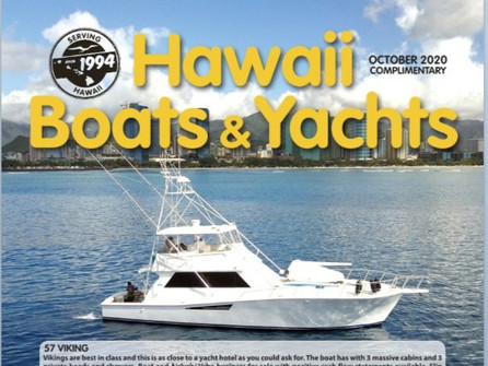 Find us in Hawaii Boats & Yachts Magazine