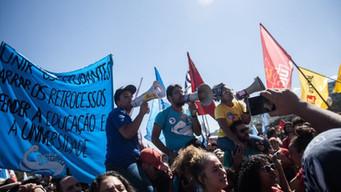 Governo fascista quer impedir luta dos estudantes