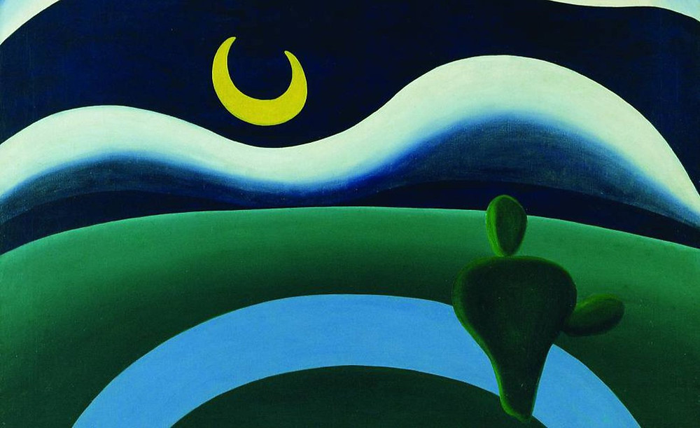 A lua Tarsila do Amaral