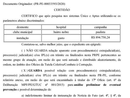 Nova denúncia contra o prefeito Júnior Matuto (PSB)