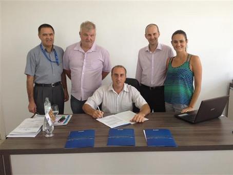 Contratos assinados com a Caixa somam R$ 1,3 milhão