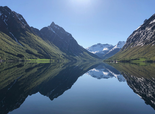 Pinsetur til Urke i Hjørundfjorden