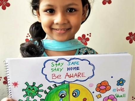 Unicef Kids-COVID Poster Art