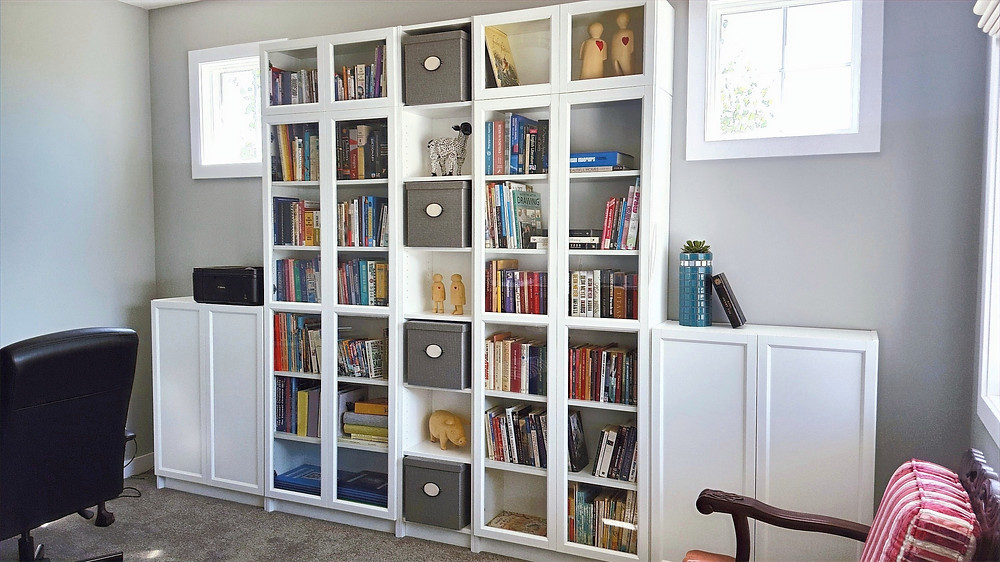 Study | Bookcases | home decor | DIY projects