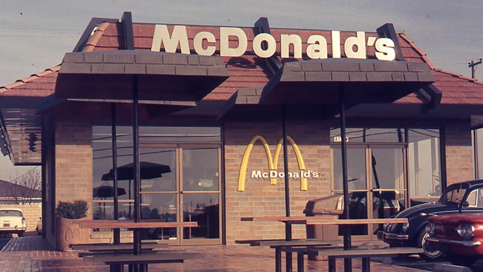 McDonald's 1990 facade