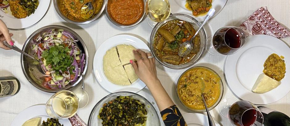 11.8.2020 Dinner in Nairobi