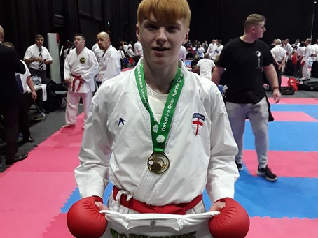 York Karate squad travels to Barnsley for the Yorkshire Open