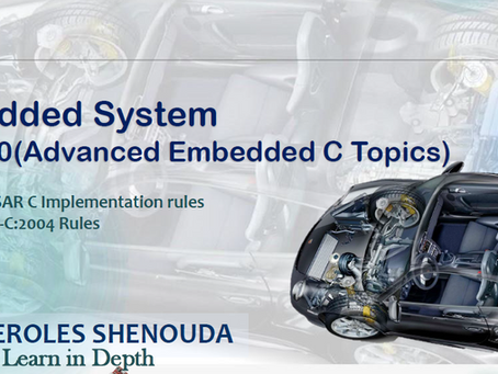 Embedded System PART 10(Advanced Embedded C Topics)