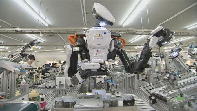 อุตสาหกรรมผลิตหุ่นยนต์ของจีนถึงเป้าก่อนกำหนดปี 2020