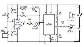 L55, Super Sensitive Intruder Alarm