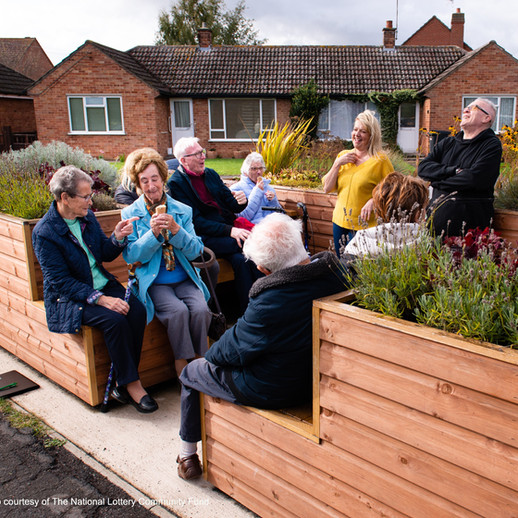 The Friendly Bench, community-led get to