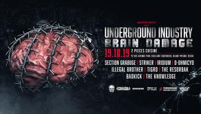 Underground Industry - Brain Damage [19.10.19]
