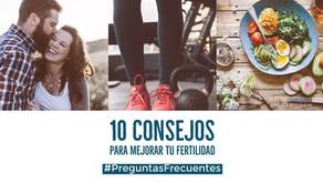 10 consejos para mejorar tu fertilidad