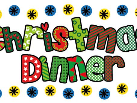 Christmas Dinner Reminder