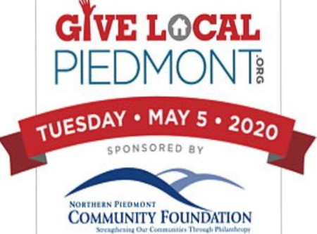 Give Local Piedmont Two Weeks Away