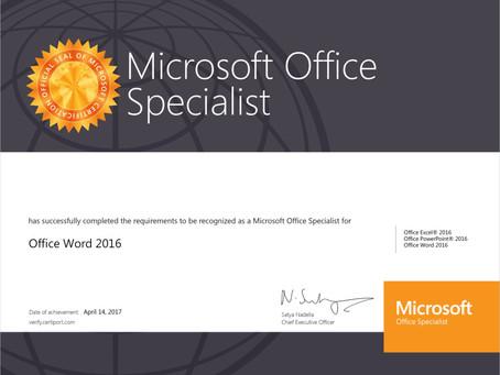 活動 107學年度第二學期微軟Office專家證照班