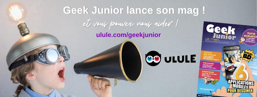 Geek Junior lance son magazine