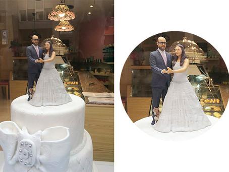 ¡Súbete a tu tarta de boda en 3D!