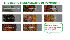 The best 9 restaurants in Plymouth