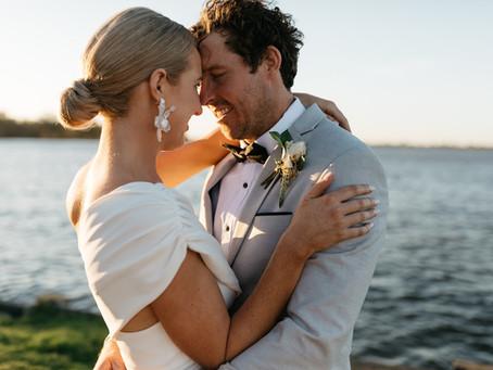 JACKIE + SCOTTY - YARRAWONGA, VIC | REAL WEDDING