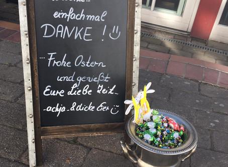 Danke - und frohe Ostern