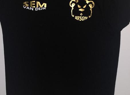 Support Sem van Dijk, koop een T-shirt!