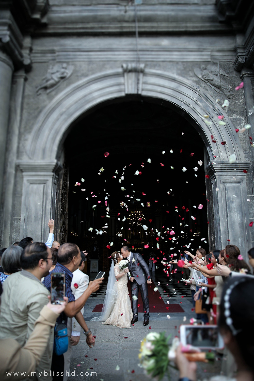 San Agustin Church Wedding Photo
