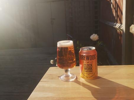Blog #10. Brewdog Clockwork Tangerine - Another sweet treat.