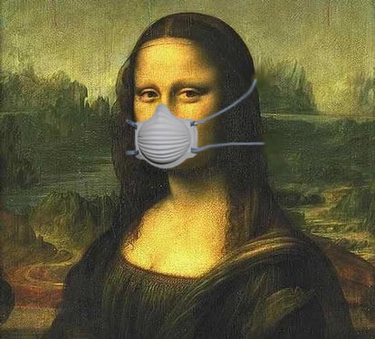 mona lisa, painting, dust, silica, respirator, mask, review, safety