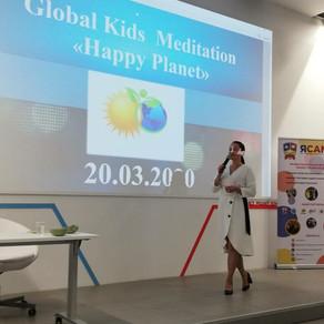 Presentation  Global Kids Meditation «Happy Planet»