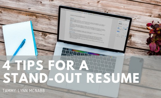 4 Tips for a Stand-Out Resume