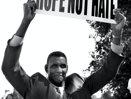 We March for HOPE not Hate