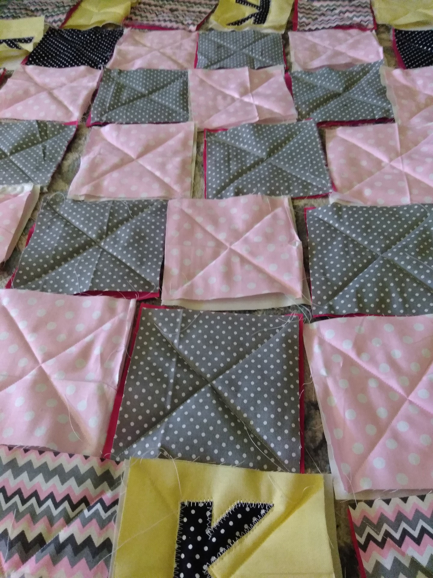 Rag Quilt Diy For Baby