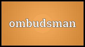 OMBUDSMAN: Lokpals and Lokayukts