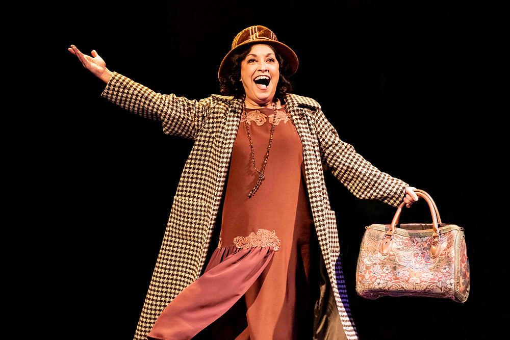Ria Jones as Momma Rose in Gypsy. All pictures: Johann Persson