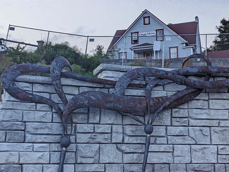 The Brand-New Sculpture at Orcas Harbor Is the One-of-a-Kind—in More Than One Way