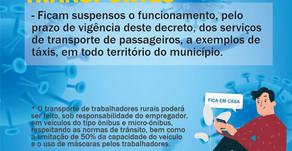 Confira o decreto de Nº2472, da Prefeitura de João Dourado. #fiqueatentoasmudanças