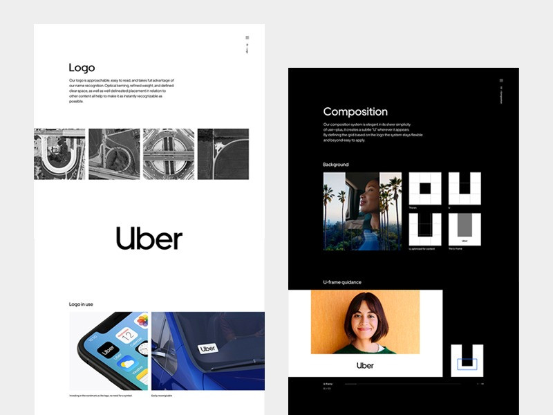 Uber Rebranding. Want the same design? Use all features of Bella Premium!